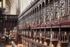 King's College - Choir Stalls